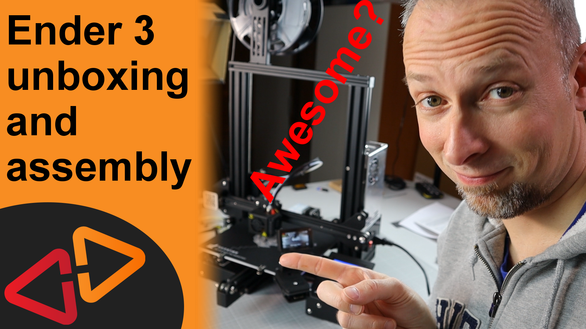 Ender 3 Unboxing and assembly