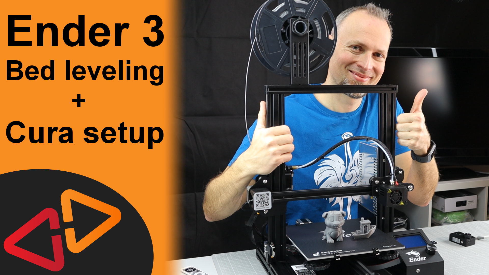 Ender 3 Bed leveling and Cura setup