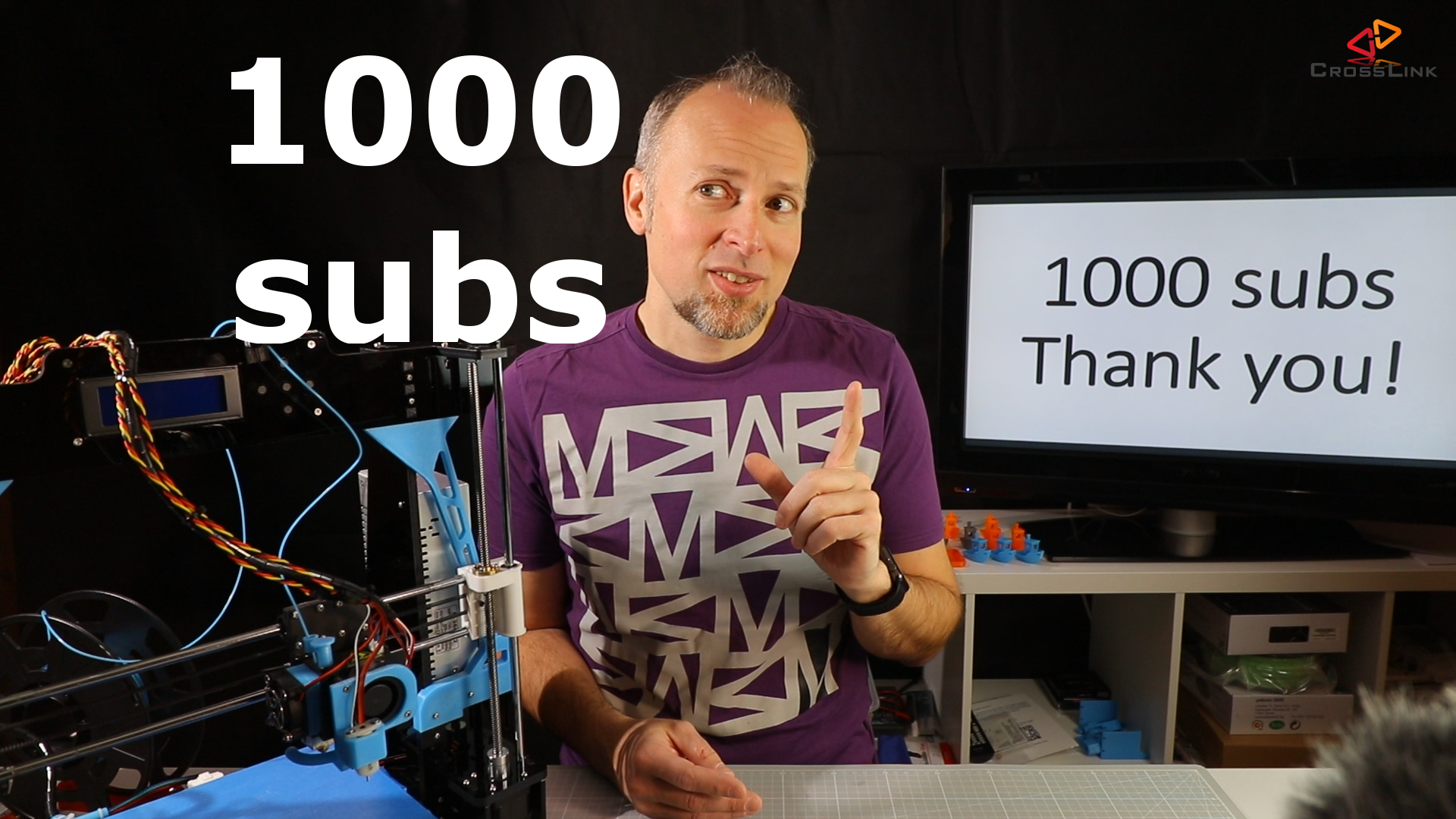 Thanks for 1000 subscribers! And whats next…