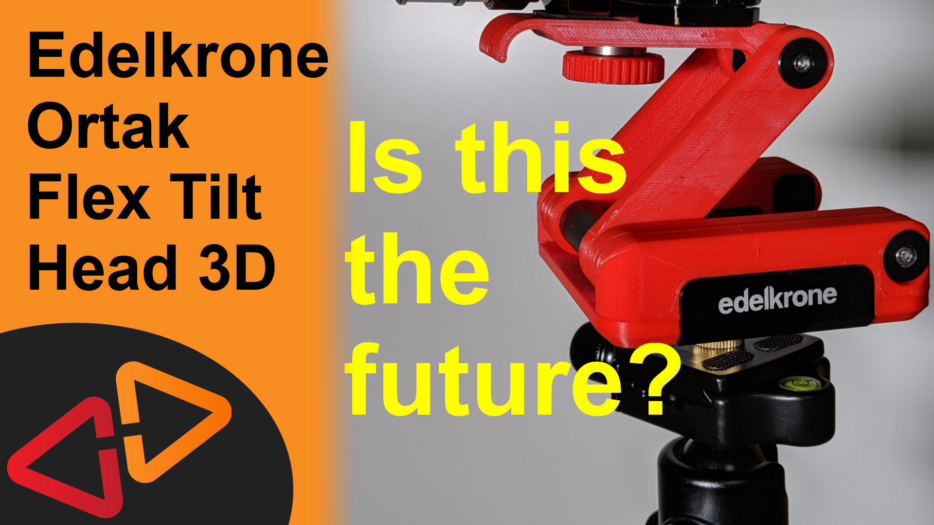 Edelkrone Ortak FlexTilt Head 3D – Is this the future of co-manufactured consumer products?